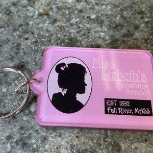 Lizzie Borden Shop - Miss Lizbeth Key Chain