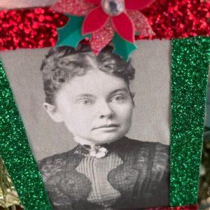 Lizzie Borden Shop - Metal Ornament