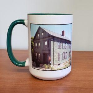 Lizzie Borden Shop - Green House Mug
