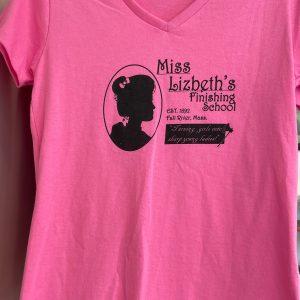 Lizzie Borden Shop - Pink Finishing School Shirt