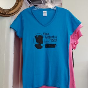 Lizzie Borden Shop - Blue Finishing School Shirt
