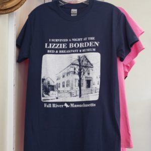 Lizzie Borden Shop - Blue I Survived Shirt
