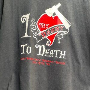 Lizzie Borden Shop - I Heart Daddy Shirt