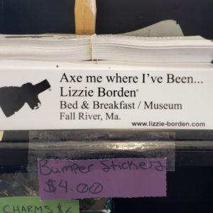 Lizzie Borden Shop - Bumper Sticker