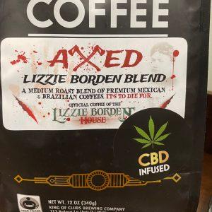 Lizzie Borden Shop - CBD Axed Coffee