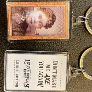Lizzie Borden Shop - Lizzie Face Key Chain