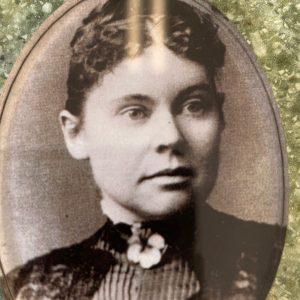 Lizzie Borden Shop - Lizzie Face Magnet