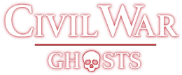 photo shows the civil war ghosts logo which says 'civil war ghosts'