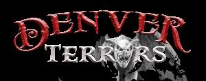 photo shows the denver terrors logo that says 'denver terrors'