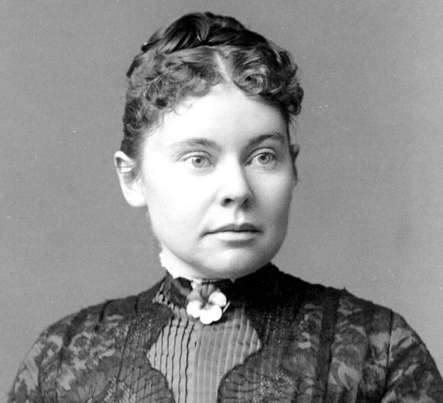 Alleged murderer Lizzie Borden