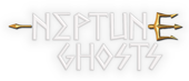 photo shows the neptune ghosts logo which reads 'neptune ghosts'
