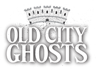photo shows the old city ghosts logo which reads 'old city ghosts'