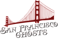 photo shows the san francisco ghosts logo that reads 'san francisco ghosts'