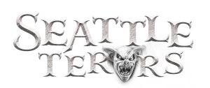 photo shows the seattle terrors logo which reads 'seattle terrors'