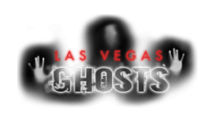 photo shows the vegas ghosts logo that says 'vegas ghosts'